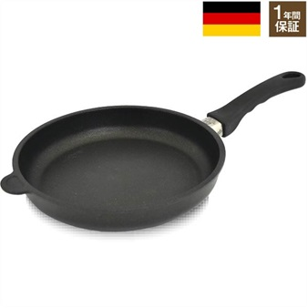 9071edca4e94 キッチン 【1年保証】ガス火専用 ドイツ製 AMT 極厚フライパン26cm ...